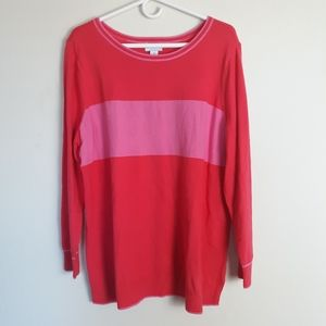 Old Navy striped lightweight long sleeve sweater